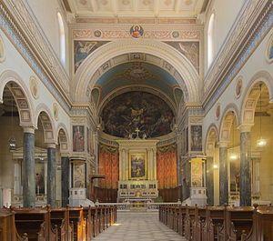 Καθολικός Καθεδρικός Ναός Αγίου Διονυσίου Αρεοπαγίτη.