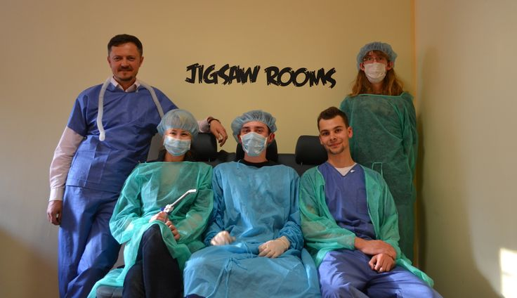 #escaperooms #jigsaw #doctors #secretrooms #escape #fun #team #realtionships #integration