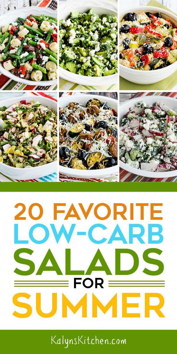 20 Favorite Low Carb Salads For Summer Summer Salads Summer