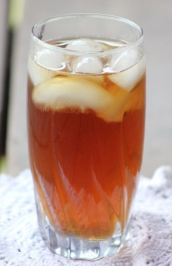The Secret of Sweet Southern Iced Tea. Tried this and it made the tea taste like Zaxbys..awesome!!