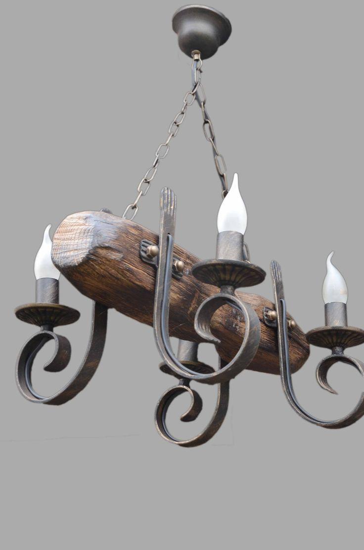 Модель: Кованая люстра ISFIR бревно (4 свечи) Производитель: ISFIR Тип: люстры, Люстра-Балка Количество источников света: 4-6 Материал: дерево, метал Цоколь: E14 50x8x8см высота до чашки 60см