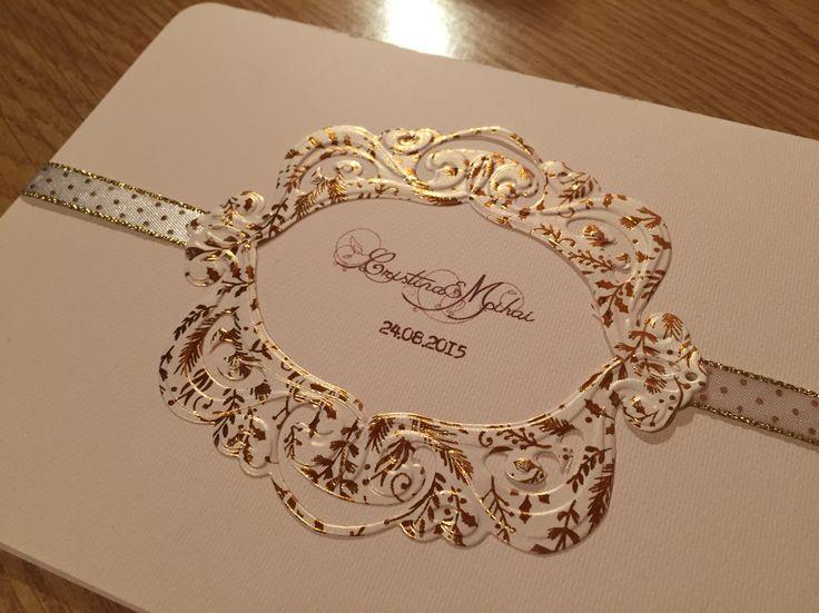 Golden Fantasy for an Elegant Small and Stylish Wedding Www.facebook.com/UneBelleCarte