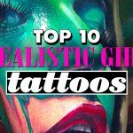 Top 10 Realistic Girl Tattoos-Tattooties presents you the best Top 10 Realistic Girl Tattoos made by the best Tattoo Artists! Realistic tattoos are difficult, they show t...