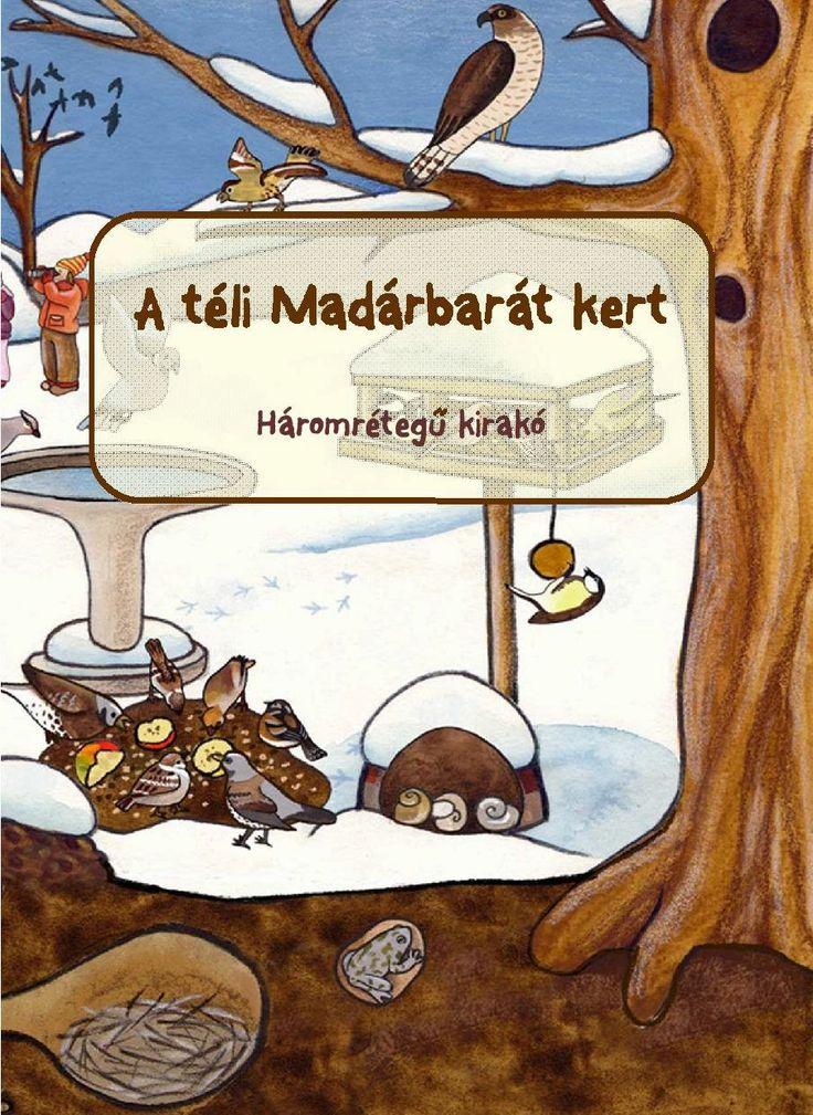 Marci fejlesztő és kreatív oldala: A téli madárbarát hely