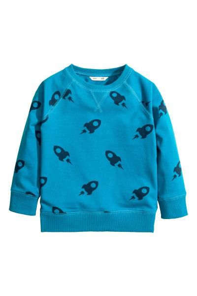 Block-coloured sweatshirt | H&M