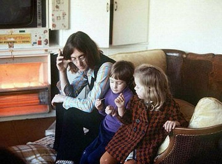 John, Julian & Julian's friend Lucy AKA Lucy In The Sky With Diamonds (1968)