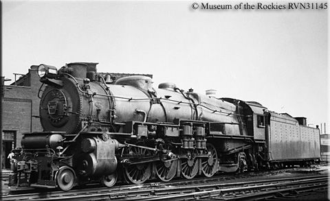 A PRR Class M1a 4-8-2 Mountain #6795 sits in Chicago on September 23, 1934.