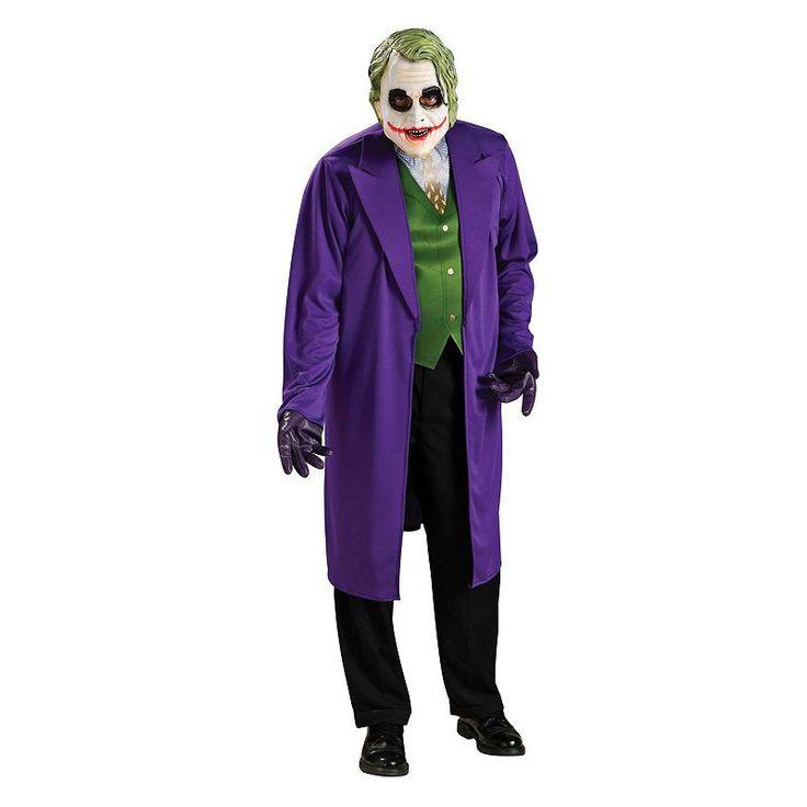 The Dark Knight Joker Costume - Adult, Green