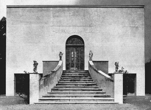 Piero Bottoni e Mario Pucci, Restauro di Villa Muggia a Imola, 1936-1938