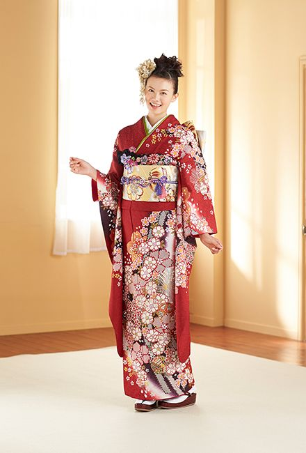 NO.032 正絹 手絞り刺繍|成人式の振袖販売、振袖レンタルの京都きもの友禅