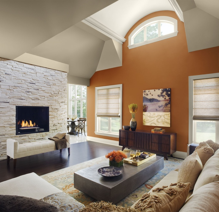 Ceiling And Wall Color Combination: Paint Color Schemes Living Room Ideas  Home Interiors Delighful