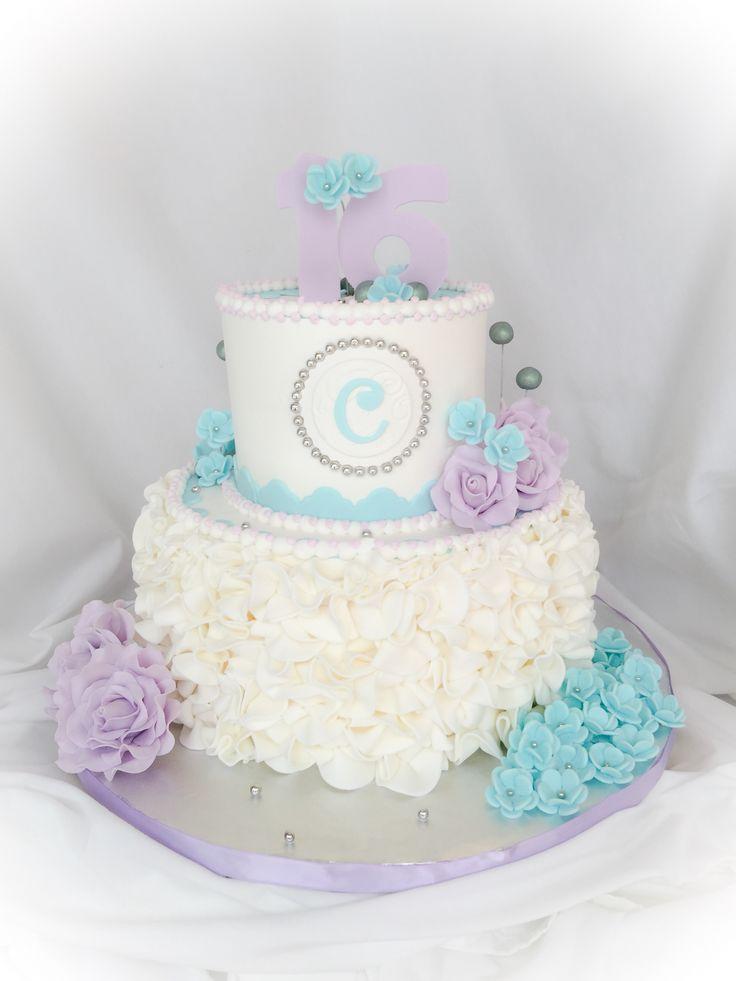 17 best Farzanas Sweet 16 Birthday Cake Ideas images on Pinterest
