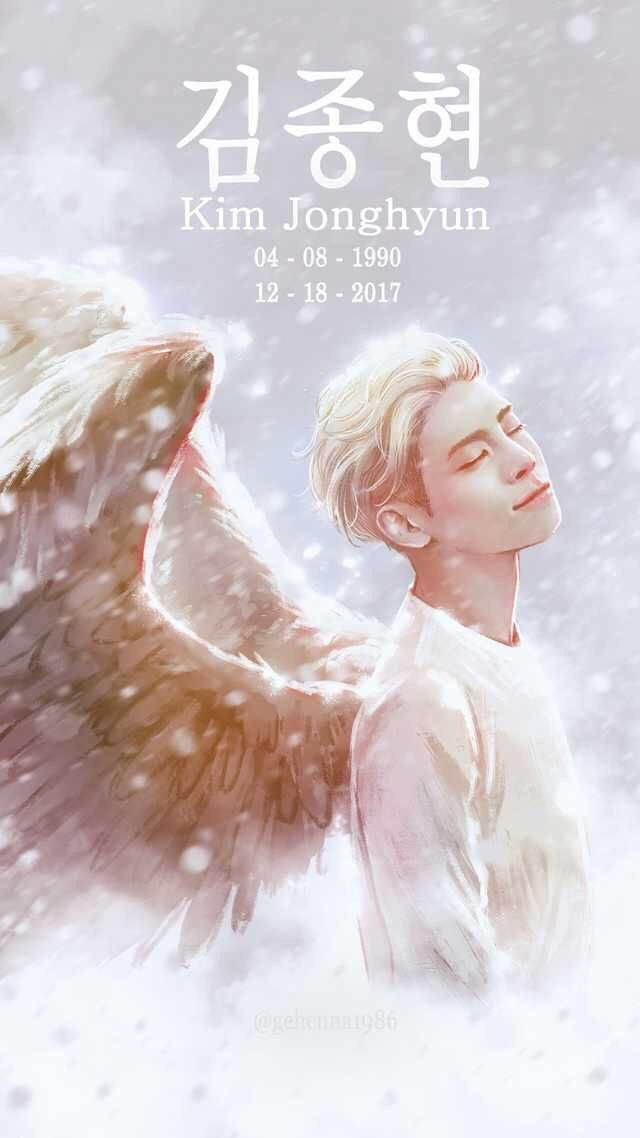 Gone but never forgotten. SHAWOL will continue to love you, Kim Jonghyun ❤ 1990-2017  Jonghyun-ah, it is already 2018 finally. Are you happy now? We need to be happy right? Ok garlic!