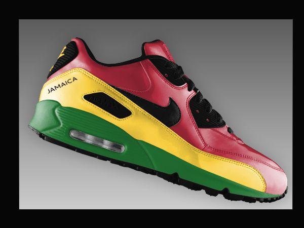 nike air max 90 jamaica (2011) | Nike air max, Nike, Chaussures ...