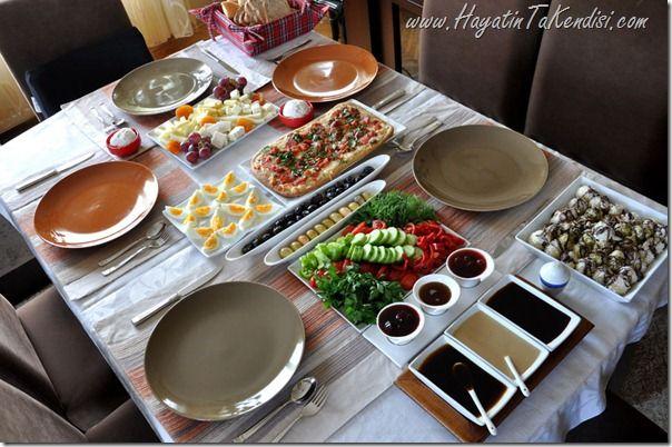 Bahar Esintisi ve Kahvaltı Önerileri