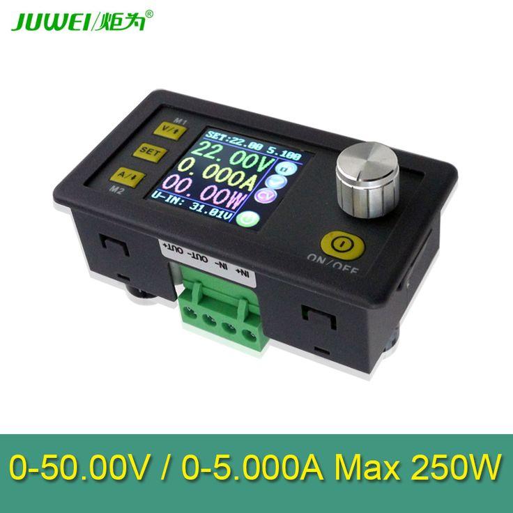 LCD convertisseur Réglable Tension mètre Régulateur DP50V5A Programmable Module D'alimentation Buck Voltmètre Ampèremètre testeur de Courant