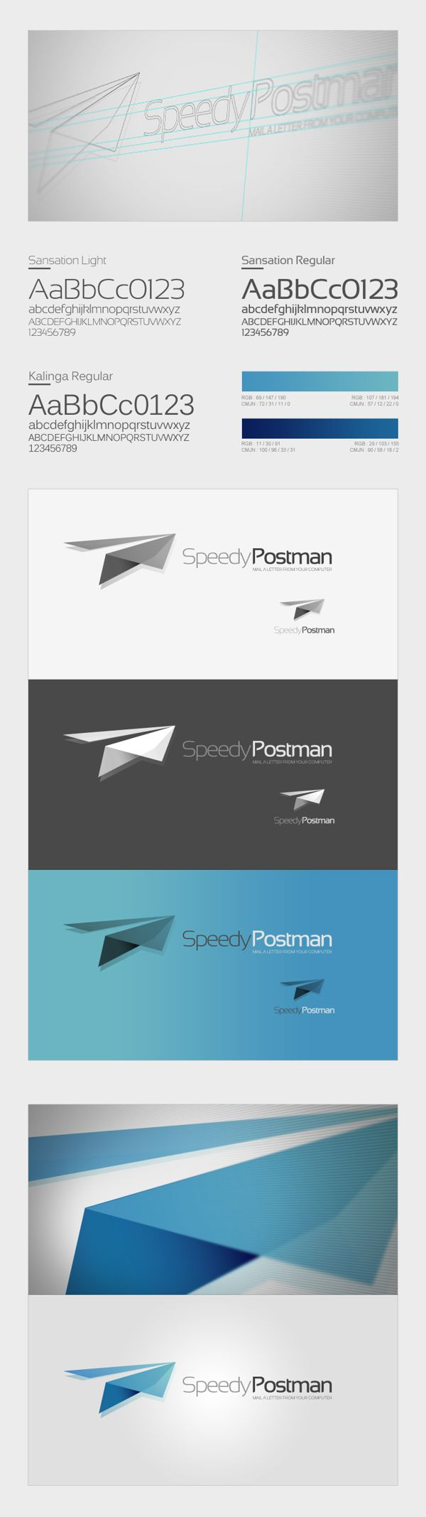 Branding | Speedy Services Concept by Thomas Le Corre, via Behance