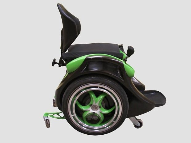 Invented by engineer Kevin Halsall for his paralysed best friend, the   wheelchair is for disabled people with active lifestyles