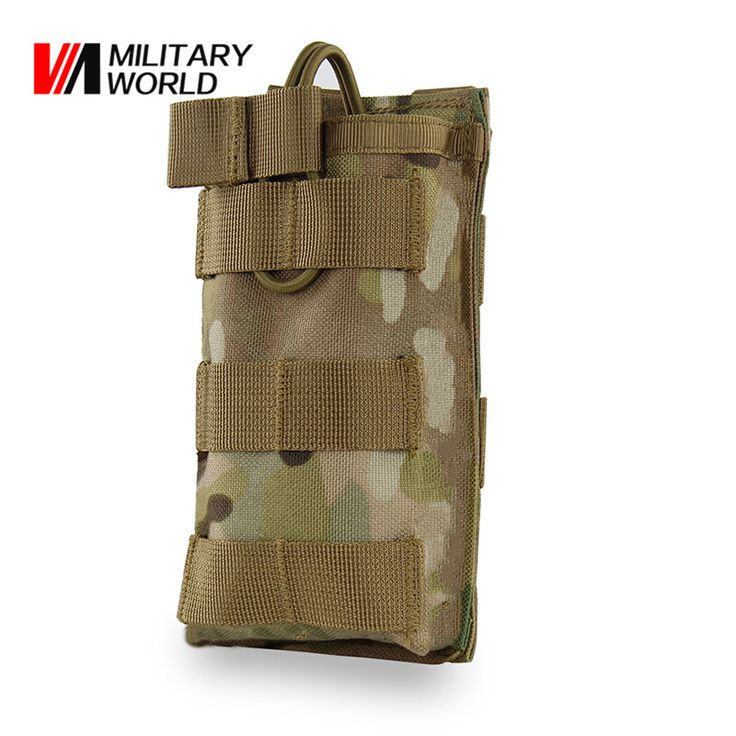 Tactical Military Molle Vest Belt Magazine Pouch Bag Camouflage Hunting Gun Pistol Magazine Bags Waist Pouch Cartridge Airsoft