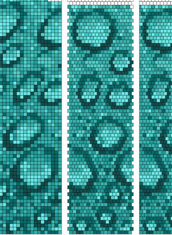 Схемы для бисерных жгутов | biser.info - всё о бисере и бисерном творчестве