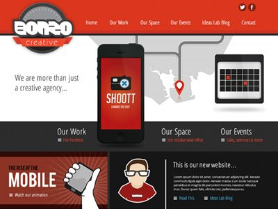 Nice webdesign by Karl March