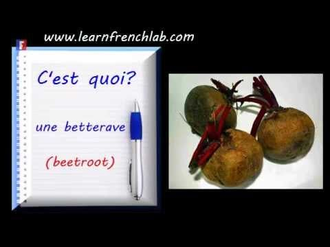 http://www.learnfrenchlab.com    #Video to learn French vegetables vocabulary