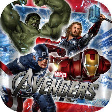 The Avengers Dessert Plate!