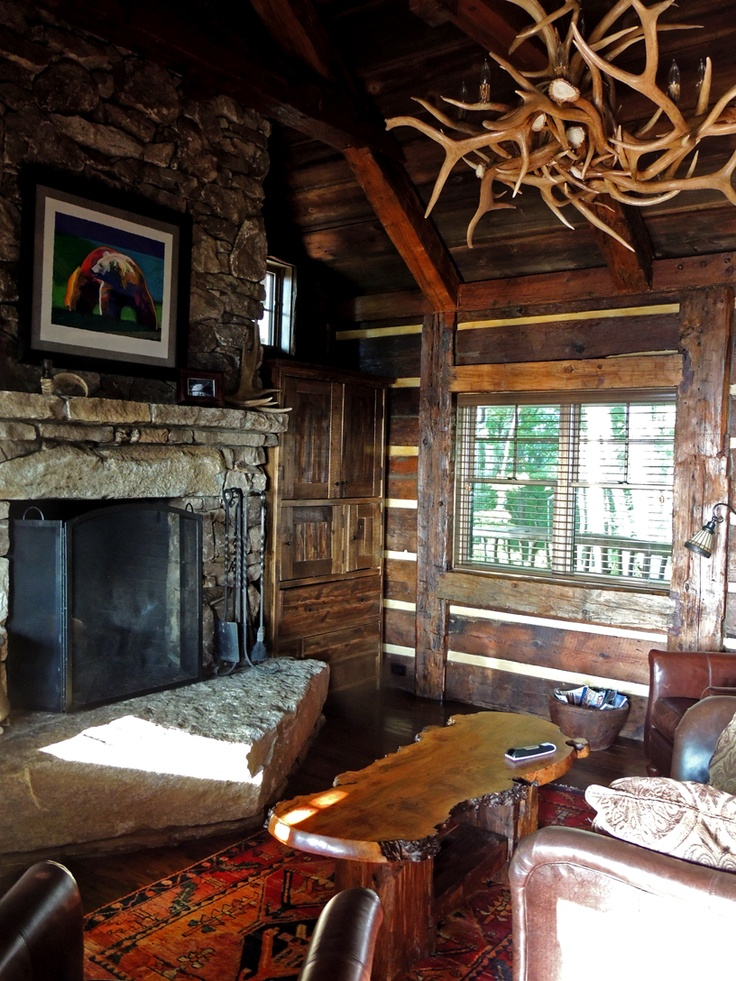 92 modern rustic cabin interior rustic cabin interiors for Log cabin interiors modern
