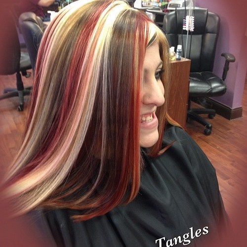 streaks in hair styles 72 best hair we go images on hair colors 4144