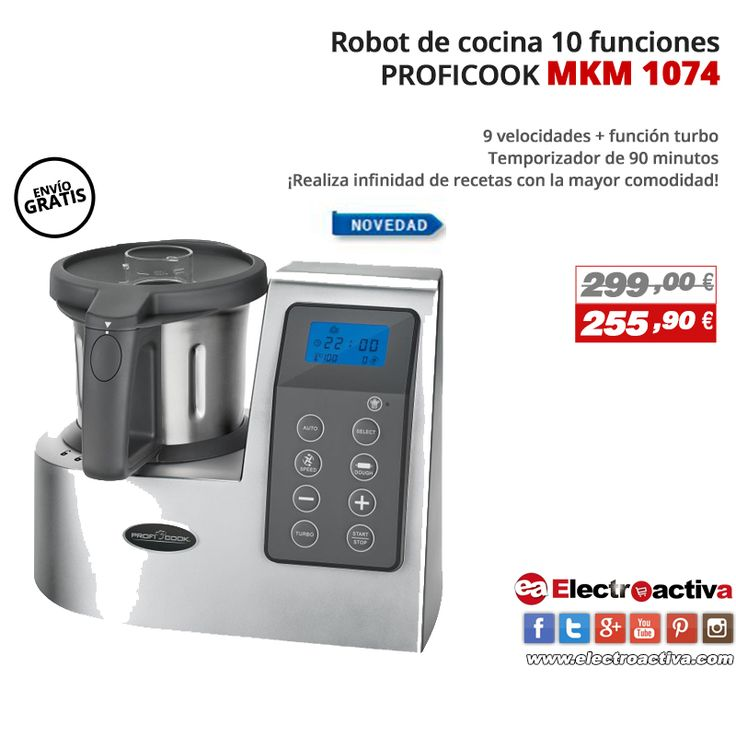 110 best cocina coccion images on pinterest doggies kitchens and products - Robot de cocina barato y bueno ...