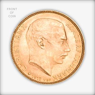 Danish 20 Kroner Gold Coin