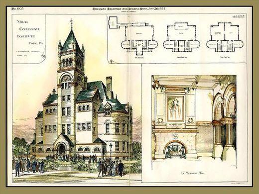 York Collegiate Institute of Pennsylvania , College Ave  , York pa