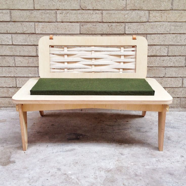 Nomad bench by Samuel Machell