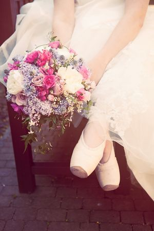 #Ballerina #bride