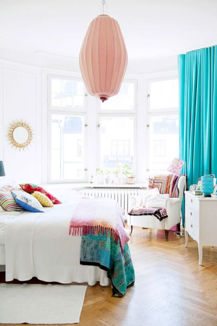 best 25 bright colored bedrooms ideas on pinterest 10948 | 004f85a4e11a3028db78dde43604f09a