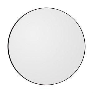 AYTM - Circum spejl Ø90 cm - sort