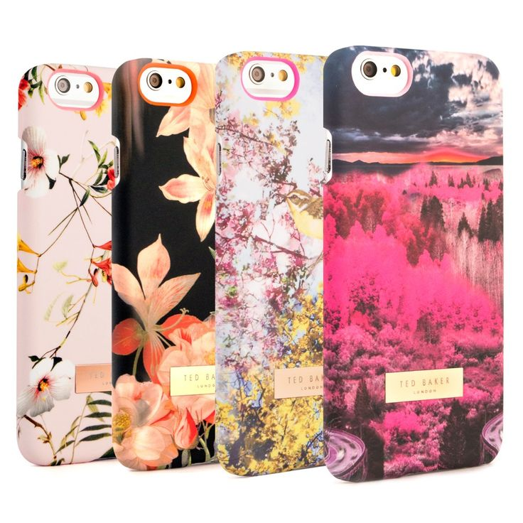 Stand out from the crowd with this range of iPhone 6 Ted Baker Cases from their Women's Autumn/Winter 2014 collection. A great Valentine's gift idea for her.