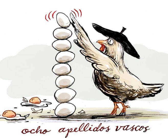 8 Apellidos Vascos