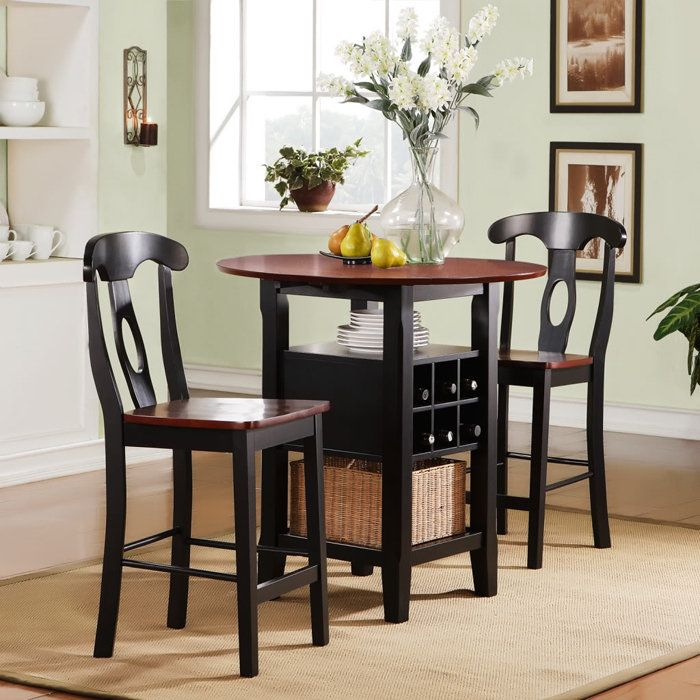 Functional Dining Tables For Small Spaces With Easy Move: Elegant Tall Dining  Tables For Small