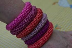 vicarno's mama: armbanden en gratis haakpatroon