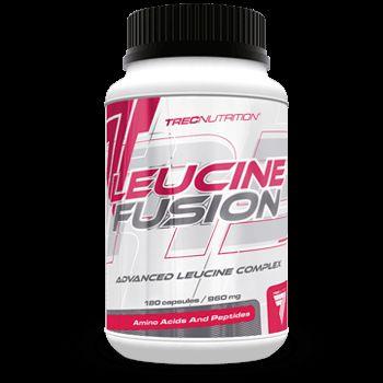 LEUCINE FUSION: Matrix 3 najsilniejszych form L-Leucyny   Matrix 3 najsilniejszych form L-Leucyny Do 70% szybsza synteza białek mięśniowych Maksymalne wsparcie dla anabolizmu