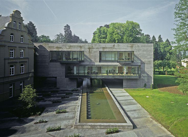 Valentiny Architects - Senior Residence, Heisdorf, Luxembourg 2004