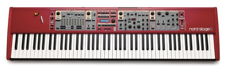 The Nord Stage 2, Piano/Electric Piano + Organ + Sampler