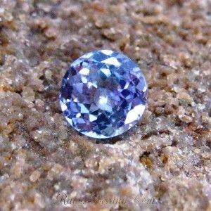Round Blue Tanzanite 1.10 carat