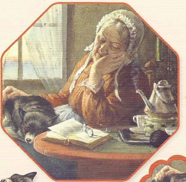 oma doet dutje