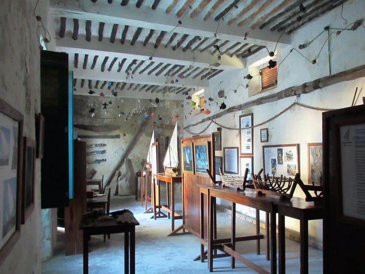 A Museu Maritimo is inside the Forte de São João Baptista on Ibo Island, Mozambique.