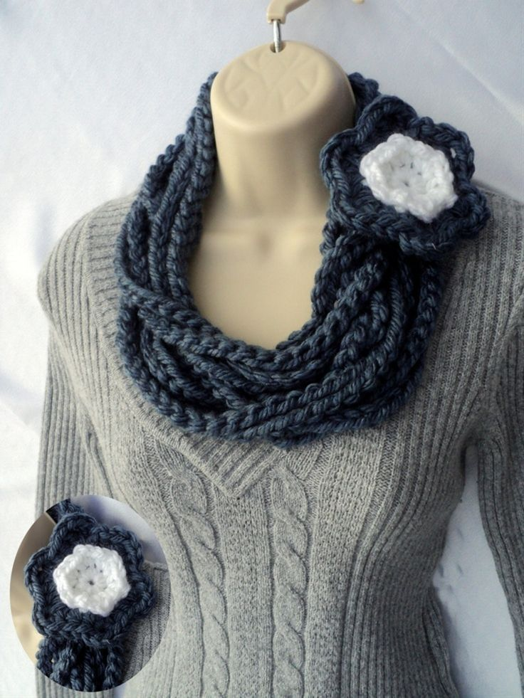 CROCHET PATTERN: Three scarves for one by Lifeinsmallspaces