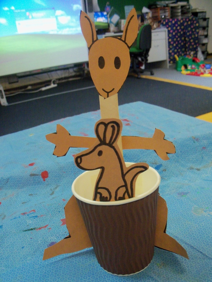 Australia Arts And Crafts For Preschoolers