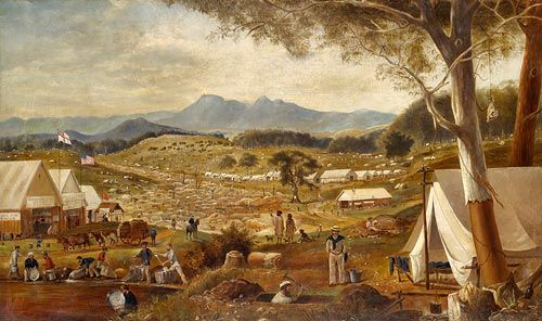 When Bridie arrived on the Ballarat Goldfields it was a city of tents.