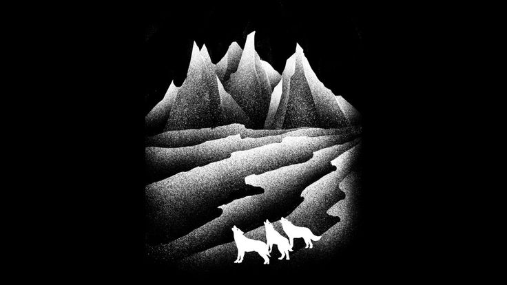 wolves howl is a T Shirt designed by barmalizer to illustrate your life and is…
